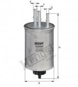 Lọc nhiên liệu Hengst KIA (Carnival II / Sedona II (GQ)   01-07   2.9 CRDi/ Carnival III / Sedona III (VQ)   06/06 -     ( 2.9 CRDi ))