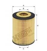Lọc dầu BMW Series 1 F20 F21, Series 3 F30. Mã BMW: 11427605342. Mã Hengst: E820HD245