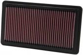 Lọc gió động cơ Honda Civic 2.0. Mã K&N: 33-2343