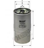 Lọc nhiên liệu Hyundai Elantra, SantaFe. Mã Hengst: H288WK