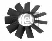 Cánh quạt gió động cơ BMW Series 3 E46, Series 5 E39. Mã BMW: 11521712058. Mã Febi: 19256