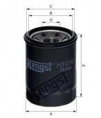 Lọc nhiên liệu Hyundai Getz, I10, I20. Mã Hengst: H313W