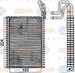 Giàn Lạnh BMW X5 E70, X6 E71. Mã BMW : 68119281416. Mã Hella: 8FV351331-291