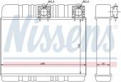 Giàn nước nóng điều hòa BMW Series 3 E46 318i 325i. Mã BMW: 64118372783. Mã Nissens: 70514